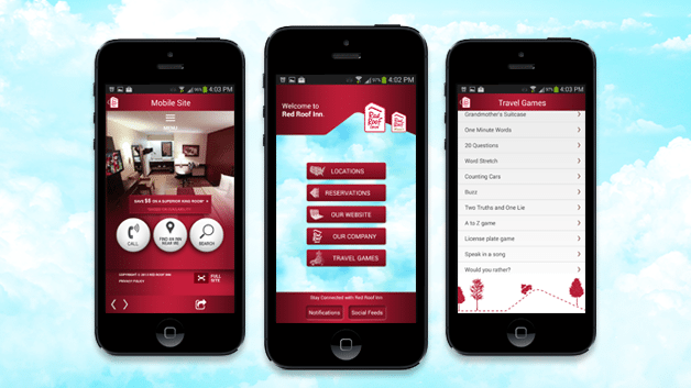 Red Roof Inn Mobile App