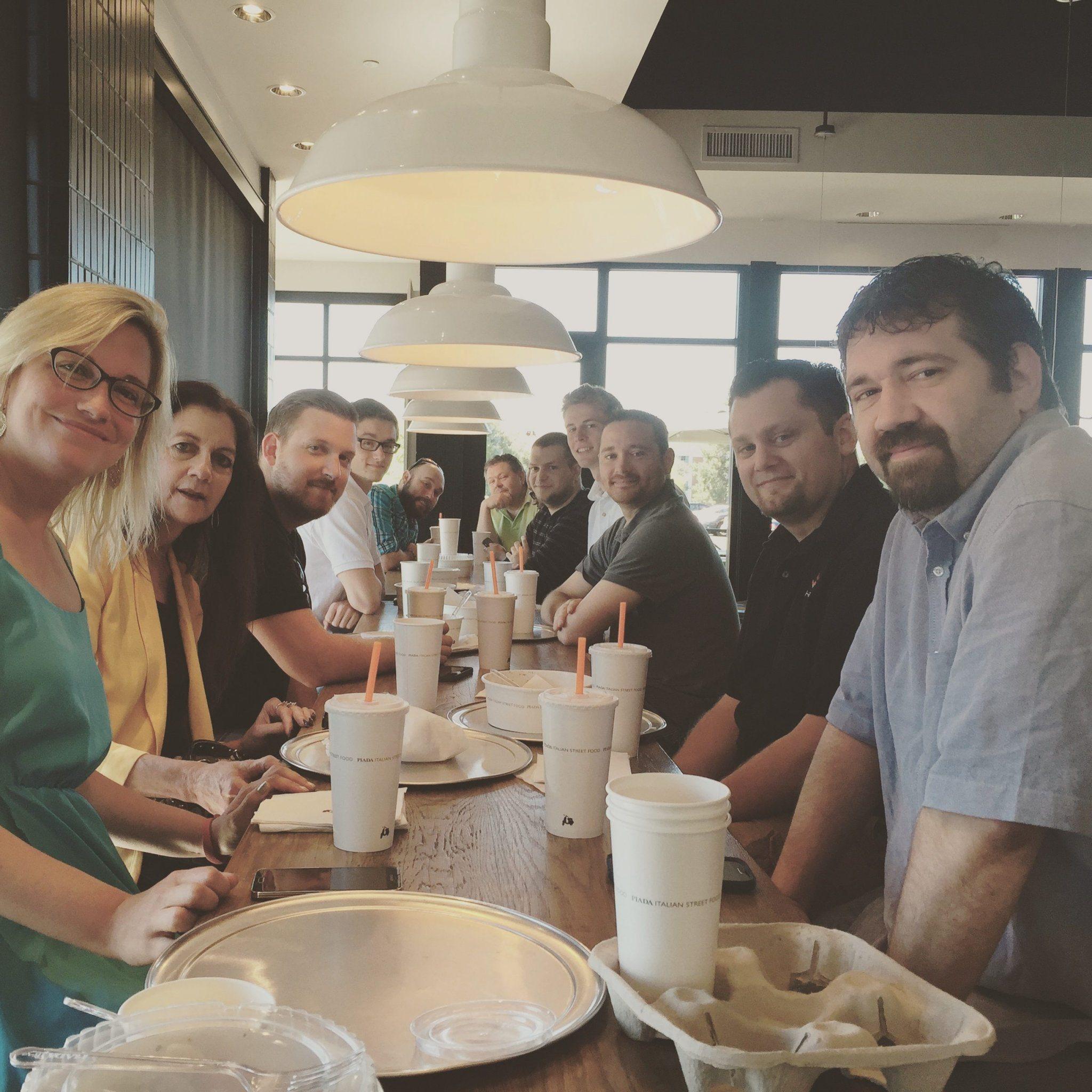 Chepri dines at Piada Worthington