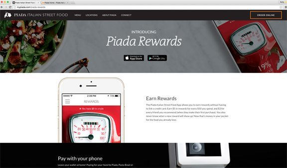 Piada Rewards