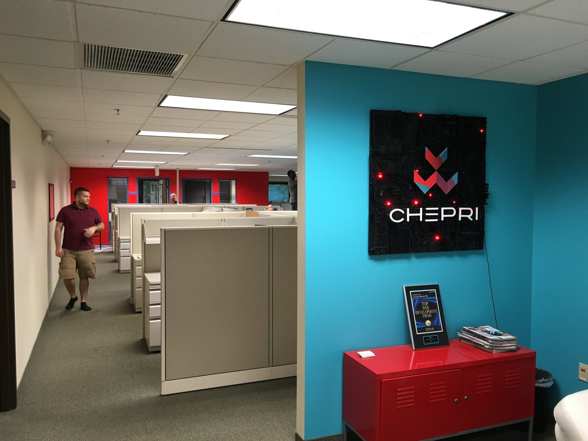 Celebrating teamwork and fresh paint at Chepri