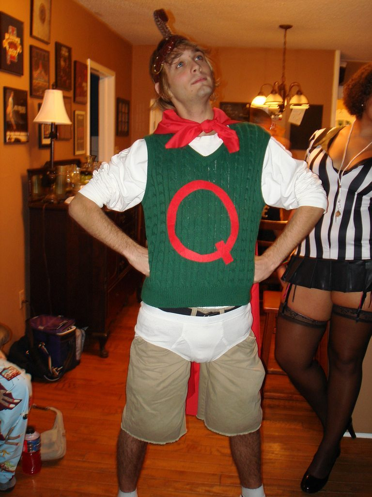 20 Perfectly Nerdy Halloween Costumes - Chepri Quailman Doug Costume