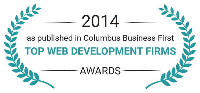 2014 Award top web development firm