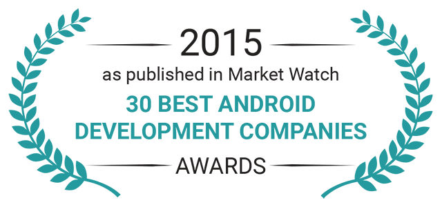 2015 Award 30 best android development