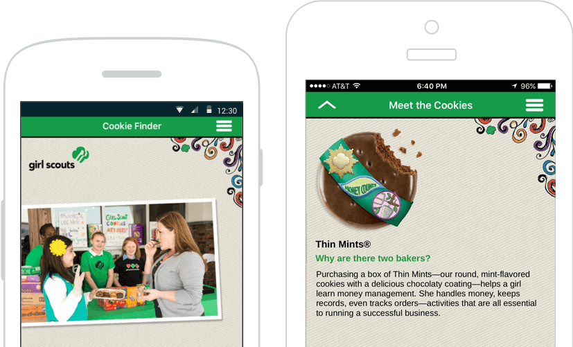 Mobile Development: Girl Scout Cookie finder App