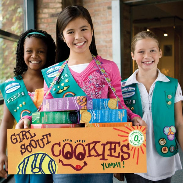 Girl Scouts and the Girl Scouts Cookie Finder App