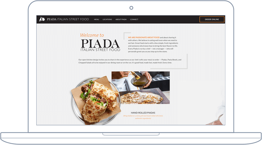 Piada - Website & Mobile App Development