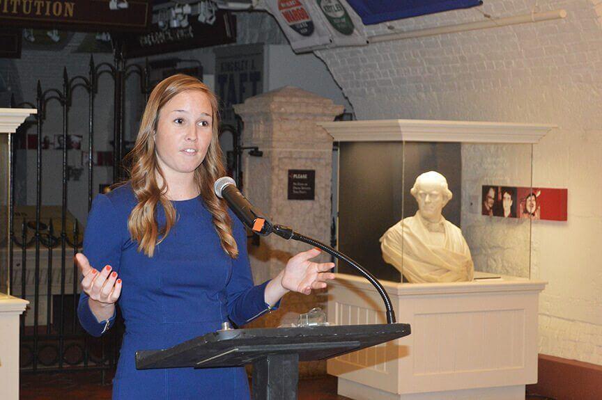 Ohio Tech, TOT, Anna Conrad speaking