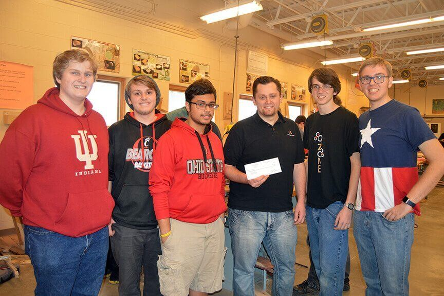 Olentangy FIRST FRC Team 4611 Receives Donation from Chepri®