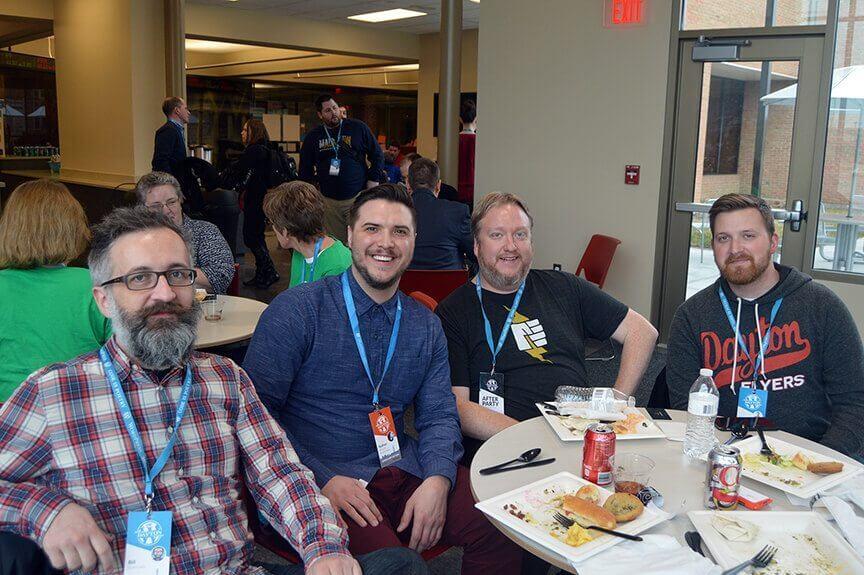 WordCamp Dayton, Bill Clifford, Nathan Weller, Dwayne McDaniel, Josh Hibbard
