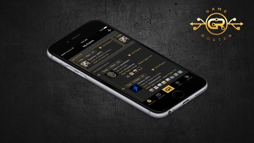 Game Roster Web and Mobile Development by Chepri®