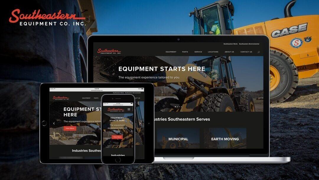 Southeastern Equipment Co. Website Design by Chepri®