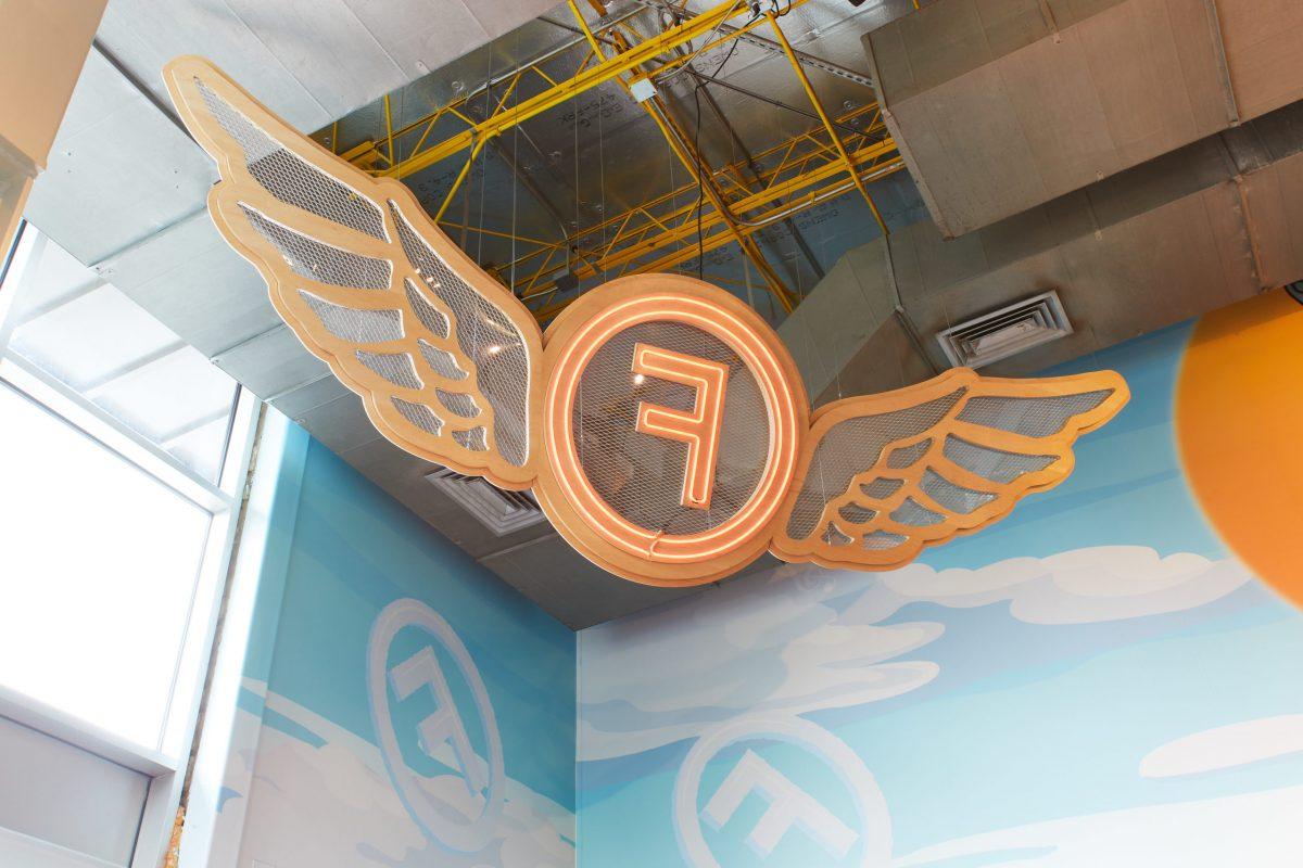 Freebirds logo signage