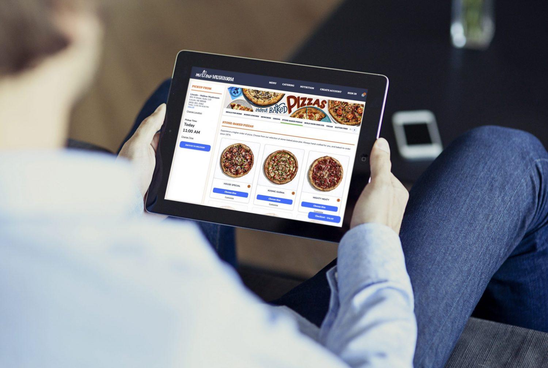 Mellow mushroom online order on ipad