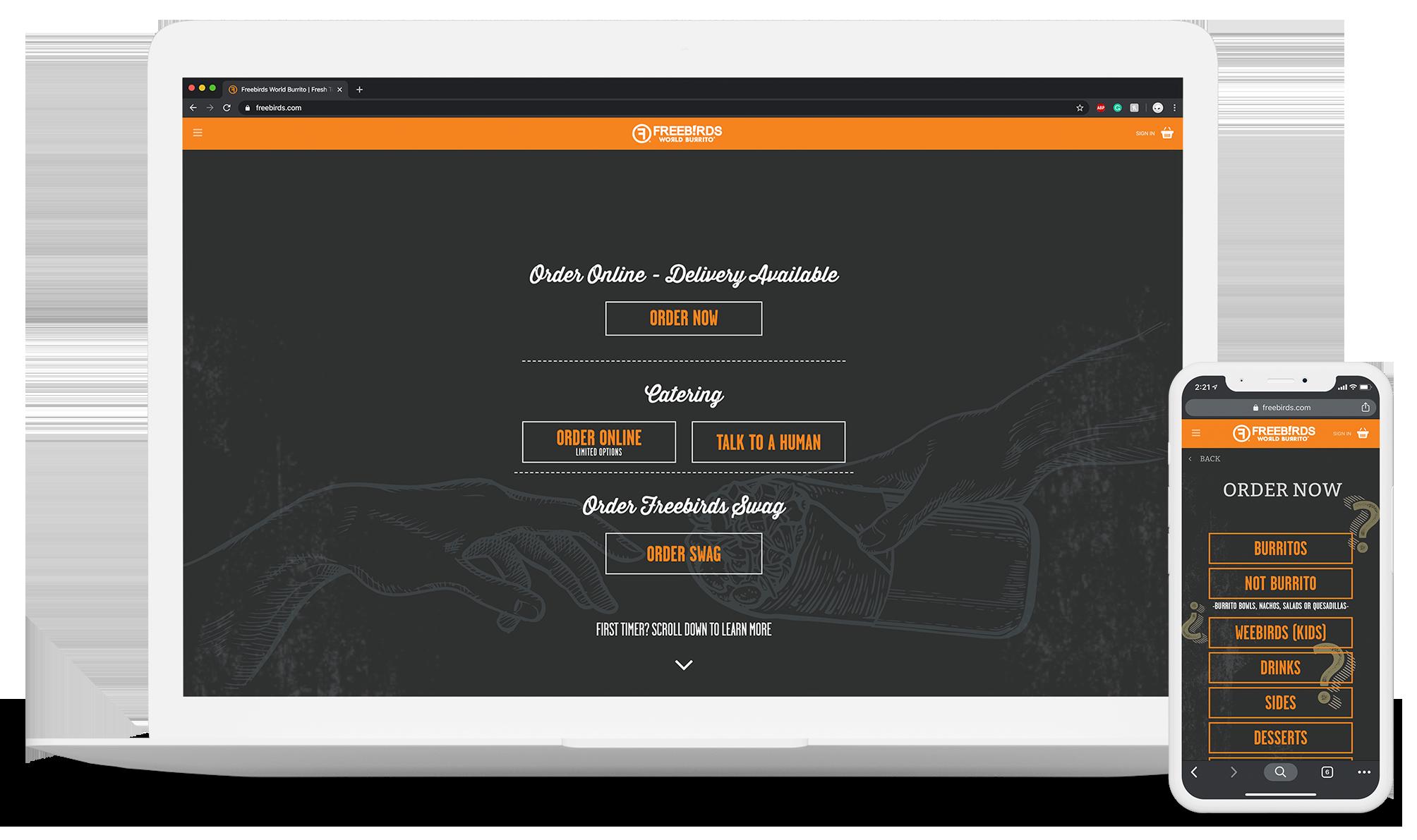 Restaurant UI Design and App Development