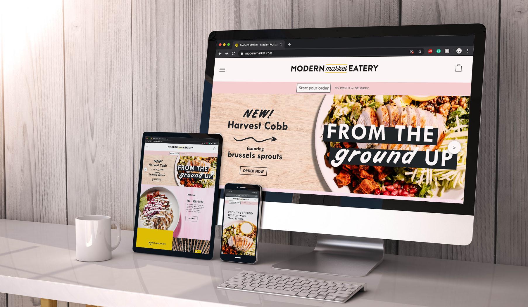 Modern Market Response website
